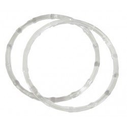 Round Handle Bags - Clear
