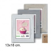 Shabby Wooden Frame - White Color