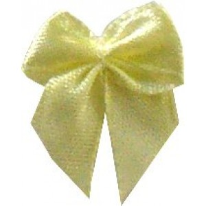 Satin Bow Application - Yellow