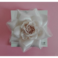 Flowers for Dresses and Hair - Ivory Rose