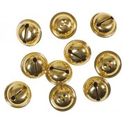 Gold Bells - 9 mm diameter