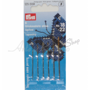 Prym - Tapestry Needles with Blunt Point and Gold Eye - Size 18-22