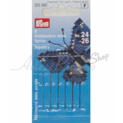 Prym - Tapestry Needles with Blunt Point and Gold Eye - Size 24-26