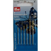 Prym - Tapestry Needles with Blunt Point and Gold Eye - Size 18-24