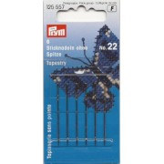 Prym - Tapestry Needles with Blunt Point and Gold Eye n. 22