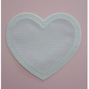 Large Heart Application to Cross Stitch