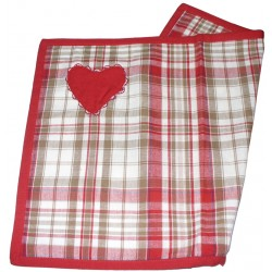 Individual Tablecloth - Country Style - Heart