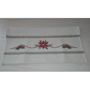 Christmas Kitchen Towel - Poinsettia