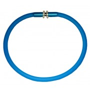 Rubber Bracelet with Metal Closure and Silicone O Ring