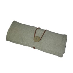 Fabric Pencilcase with Colors and Ruler