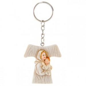 Tao Keychain Mary with Child