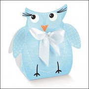 Light Blue Owl Box