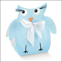 Light Blue Owl Box