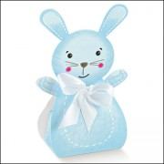 Light Blue Rabbit Box