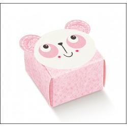 Favor Box for Newborn - Pink Panda