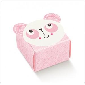 Scatola Nascita Rosa - Astuccio Panda