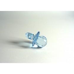 Transparent Pacifier Gift - Light Blue
