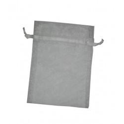 Bolsa de Organza 14 x10 cm - Blanco