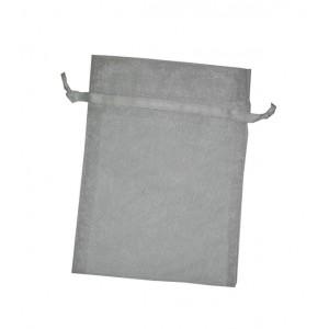 Sacchetto in Organza - Dimensioni 14 x 10 cm - Bianco