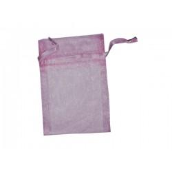 Bolsas de Organza 7.5 x10 cm - Rosa