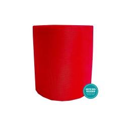 Nastro Tulle Rosso - Altezza 12,5 cm