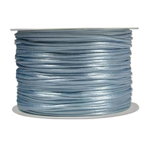 Rattail Cord - Light Blue Satin Cord