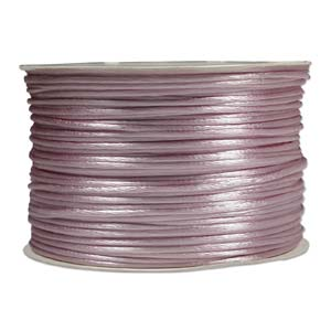 Rattail Cord - Pink Satin Cord