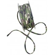 Elastic Tubular Ribbon - Military Fantasy