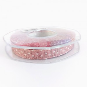 Pois Gift Ribbon - Old Pink 10 mm