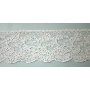 Ivory Valencienne Lace  - Width 6,00 cm