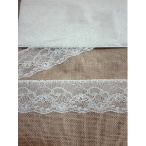 Ivory Valencienne Lace  - Width 5,00 cm