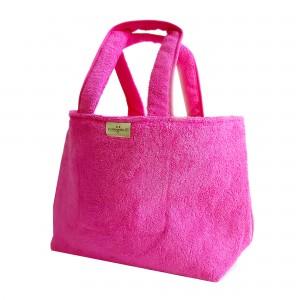 Bolso de Rizo para Playa - Color Fucsia