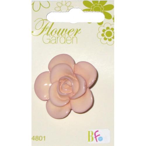 Flower Garden - Bottone a forma di Rosa