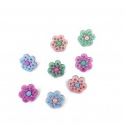 Decorative Buttons - Happiness Blooms From Within