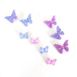 Bottoni Decorativi - Farfalle Sweet Butterflies