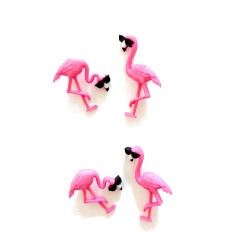 Decorative Buttons - Flamingo