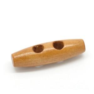 Botones de Madera Cuerno 30 mm