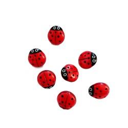 Botones Mariquita 15 mm