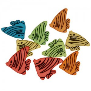Decorative Buttons - Fishy