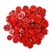 Decorative Buttons - Red
