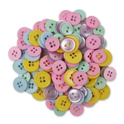 Decorative Buttons - Pastels