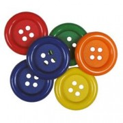 Decorative Buttons - Primary Colours