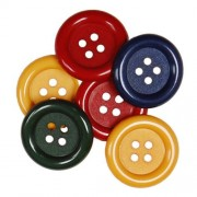 Decorative Buttons - Country Colours
