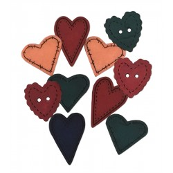 Decorative Buttons - Country Love