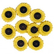 Decorative Buttons - Sunflowers