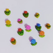Decorative Buttons - Spring Flowers