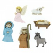 Decorative Buttons - Nativity