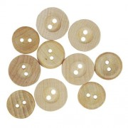 Decorative Buttons - Wood