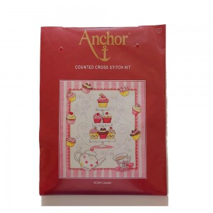 Anchor - Cupcake Counted Cross Stitch Kit - Dolcetti