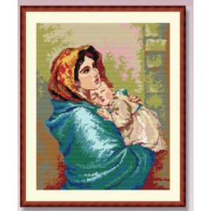 Needlepoint Canvas - Madonna and Child